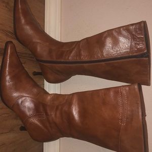 Leather Boots Kenneth Cole.